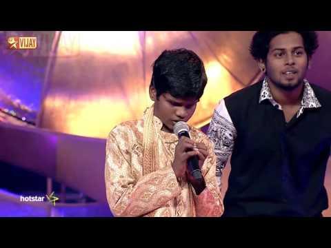Super Singer Junior - Ennama Ippadi Panreengale Ma by Dhanush thumbnail
