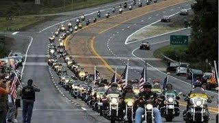 9 11 2 MILLION BIKERS IN WASHINGTON, DC!!! AERIAL FOOTAGE!! 9 11 13