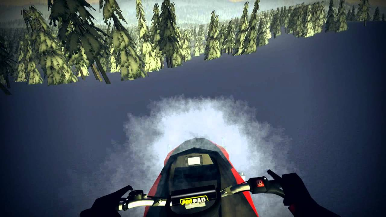 SledSimulator News Snowmobile Game In Development YouTube