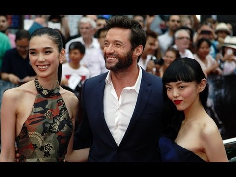 The Wolverine premieres in London with Hugh Jackman