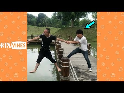 Funny videos 2018 ✦ Funny pranks try not to laugh challenge P9