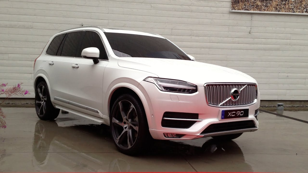 New 2015 Volvo XC90, first presentation - YouTube