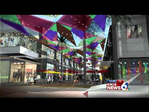 Palm Springs Desert Fashion Plaza Plans for Desert Fashion Plaza