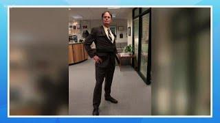 Rainn Wilson visits the KING 5 studios