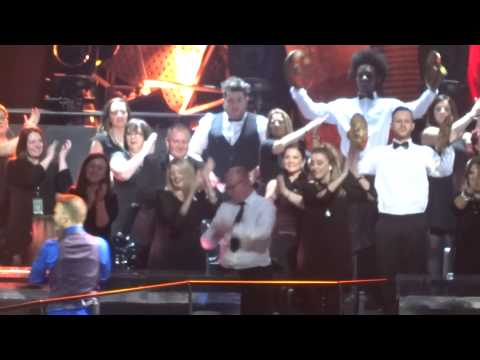 Take That - Hold Up A Light - 28-4-15 Glasgow HD