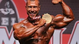 Golden MILAN ŠÁDEK - Amateur Mr. Olympia