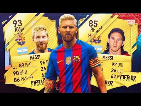 FIFA 07 - FIFA 17   LIONEL MESSI - FIFA GENERATIONS