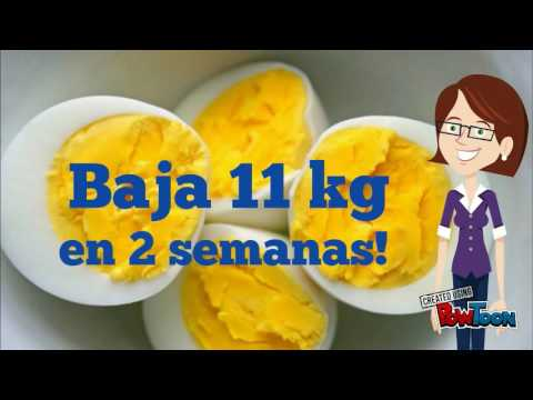 Baja 11 Kg En 2 Semanas Con La Dieta Del Huevo Cocido