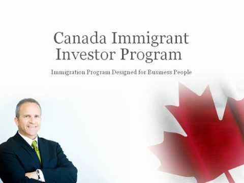 immigrating from canada to the us with investment