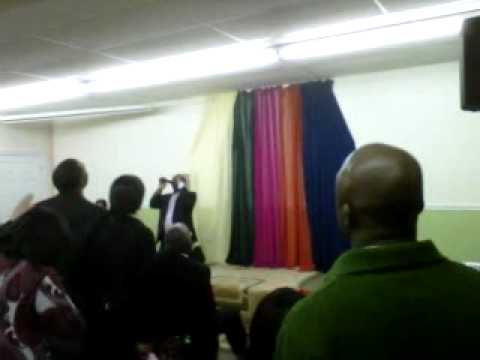 Wale Adenuga In Rccg Praise Court - Worship Night video