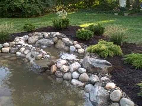 How to build a water garden koi pond from a swimming pool for Convert koi pond to pool
