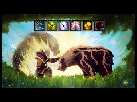 Dota 2 Mods   SUPER HEALING ROTTING DISCO BEAR!!   Baumi plays Legends of Dota