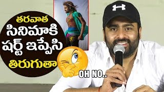 Nara Rohit ABOUT his SIX PACK in Balakrishnudu Movie | Filmylooks