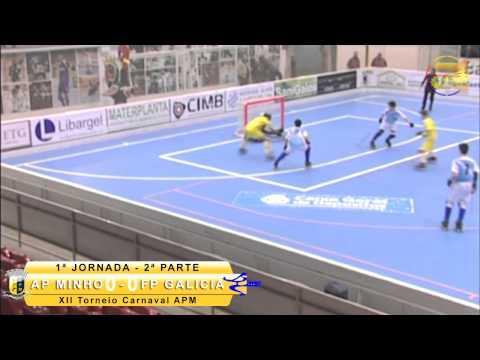 XII Torneio Int. Carnaval 2015 1.ª Jor: AP Minho 1-4 FP Galiza
