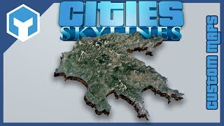 Cities Skylines Custom Real World Map Tutorial  Lp Ep Zero