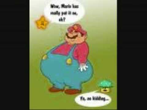 Fat Mario vs Fat Sonic Fat Mario