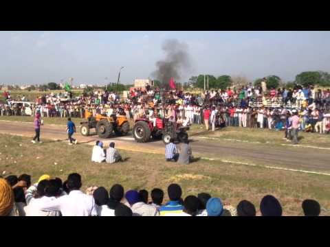 Arjun Bagrian Vs Sonalika Tractor Tochan At Pind Dhandra video
