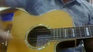 Ellam yesuve - Tamil christian devotional church song in Acoustic guitar Instrumental
