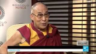 His Holiness the Dalai Lama Interviewed on France 24 TV
