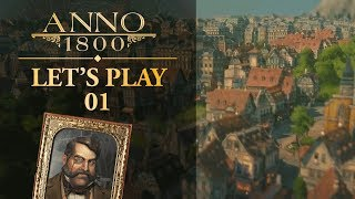 ANNO 1800 CAMPAIGN | Ep. 1 | FAMILY FEUD (City Building Mini Lets Play)