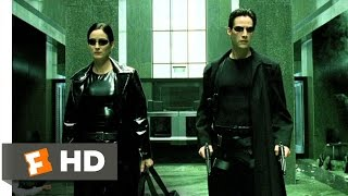 The Lobby Shootout - The Matrix (6/9) Movie CLIP (1999) HD