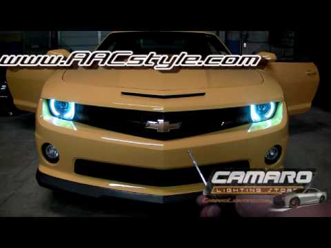 2010-2013 Chevy Camaro SS ColorSHIFT ORACLE Halo Kit by Advanced Automotive Concepts