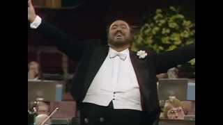 Luciano Pavarotti Video - Luciano Pavarotti / Concierto En Londres