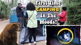 First Time Camping In The Woods | Fort Wilderness