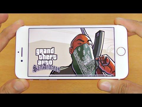 iPhone 7 Gaming Review GTA San Andreas (4K)