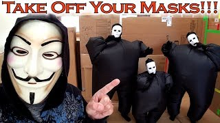 Game Master Makes Chubby Hacker Army Take Off Masks!!! Game Master Reveal!