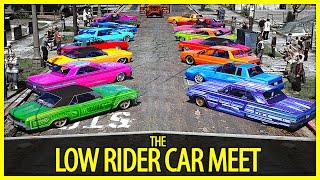 GTA 5 - The Low Rider Car Meet | GTA V PC Editor