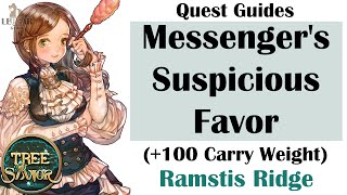 [ TREE OF SAVIOR ] iCBT2 | Ramstis Ridge : Messenger