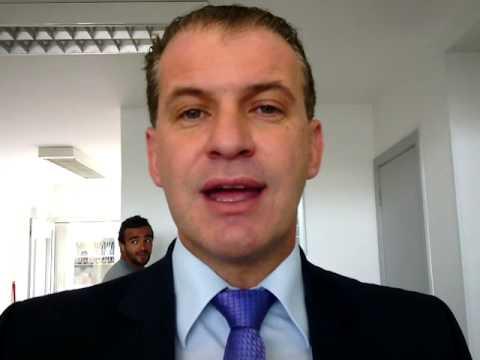 Secretário de esportes do PR visita a Chute Boxe