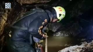 Así trabajan los buzos en el interior de la cueva de Tailandia