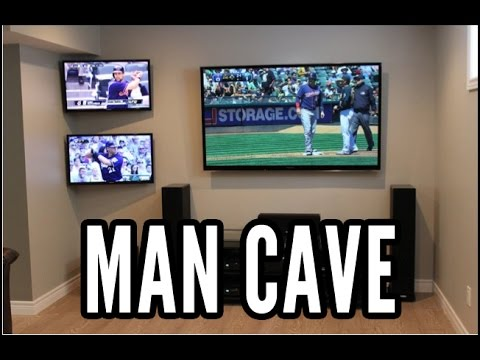 Man Cave For Sports Bettor Fan Youtube