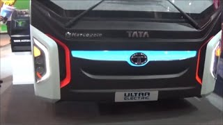 Tata ultra  Electric Bus Delhi auto expo 2016