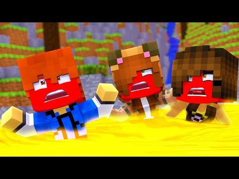 Minecraft Daycare - DROWNING IN LAVA !? (Minecraft Roleplay)