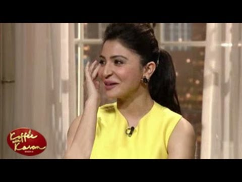 Anushka Sharma's Naked Moment On Koffee With Karan 4 9th February 2014 video