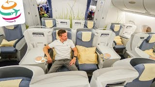 China Southern Airlines Business Class A380 PEK-AMS | GlobalTraveler.TV