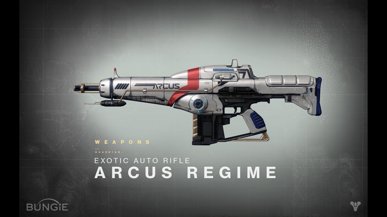 destiny how to get exotic weapons