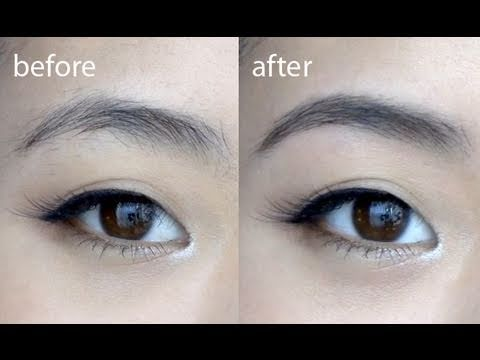Basics Perfect Brows Tutorial Youtube