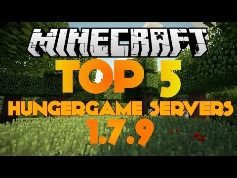 Minecraft: Best Hunger Games Servers 1.7.10  [2014] [new]