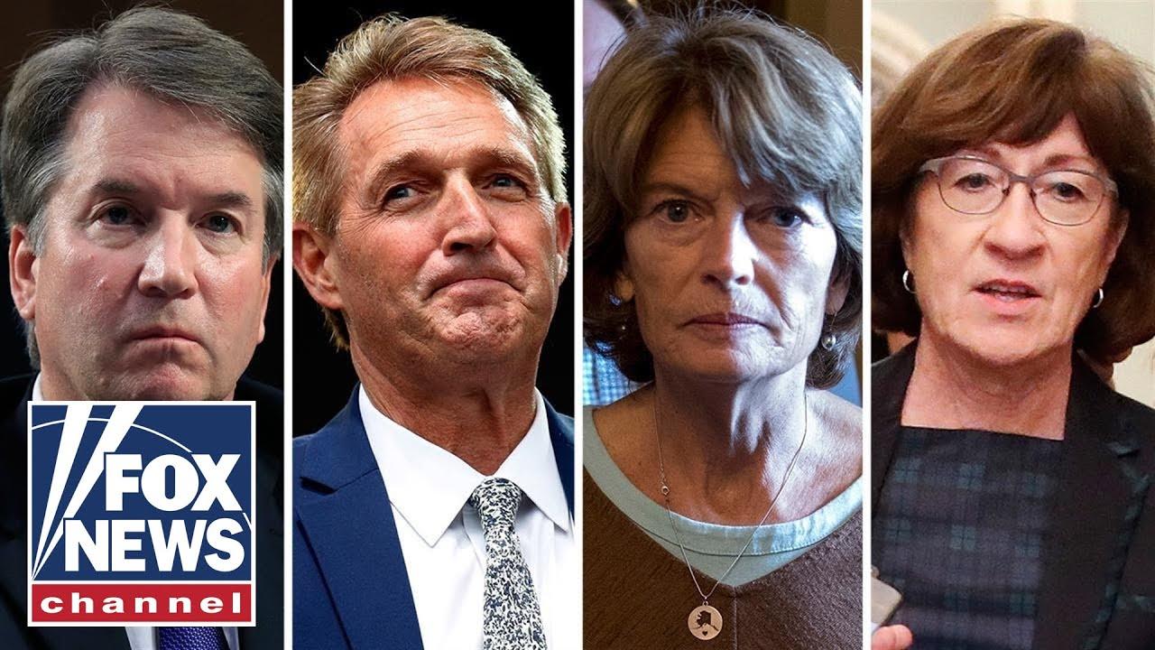 Fate of Judge Kavanaugh up to three senators