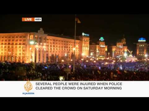 David Chater updates on Kiev's anti-government protests
