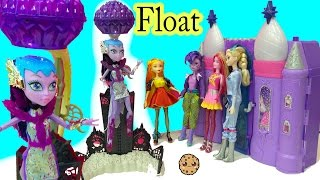 Frozen Doll Queen Elsa Meets Space Pop Princess  Aliens + Real Floating Monster High Astranova