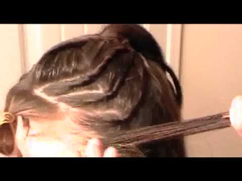 Twisty Hair Style-Churritos Peinado
