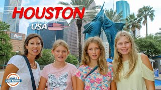Visit Houston Texas - Top Things To Do | 90+ Countries With 3 Kids