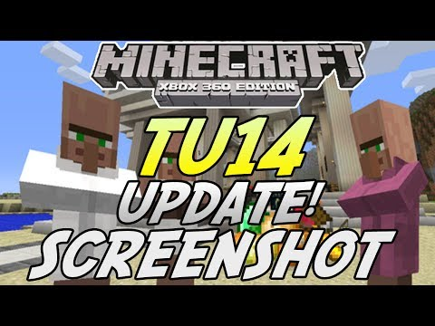 Minecraft (Xbox 360/PS3) - TU14 UPDATE! - NEW VILLAGERS + ITEMS SCREENSHOT INFO!