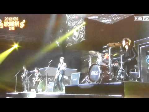KBS歌謡祭2012 CNBLUE~Hey You