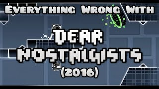 "Everything Wrong With ""Dear Nostalgists"" by TriAxis (JOKE/PARODY)"